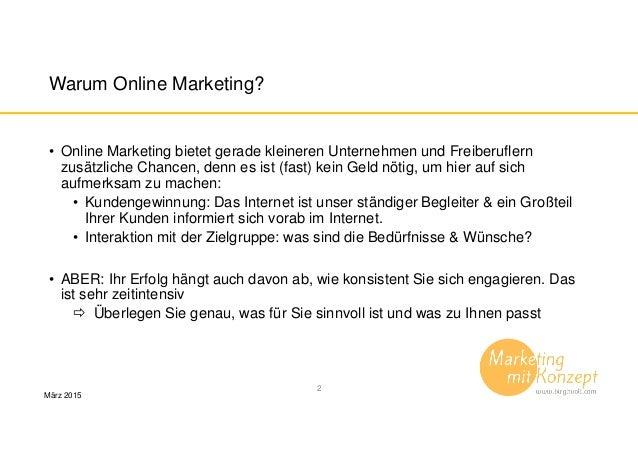 Tipps für Unternehmer online marketing effizient nutzen Slide 2