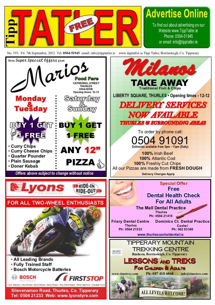 Advertise Online      TATLERTipp                                                                                          ...