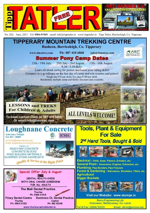 Tipp Tatler Issue 202 July 2013
