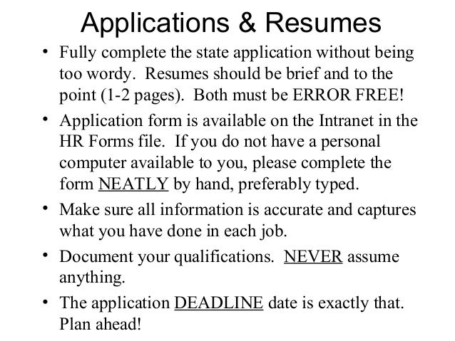 what does date available on a job application mean