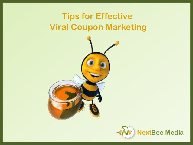 NextBee Media Tips for Effective Viral Coupon Marketing