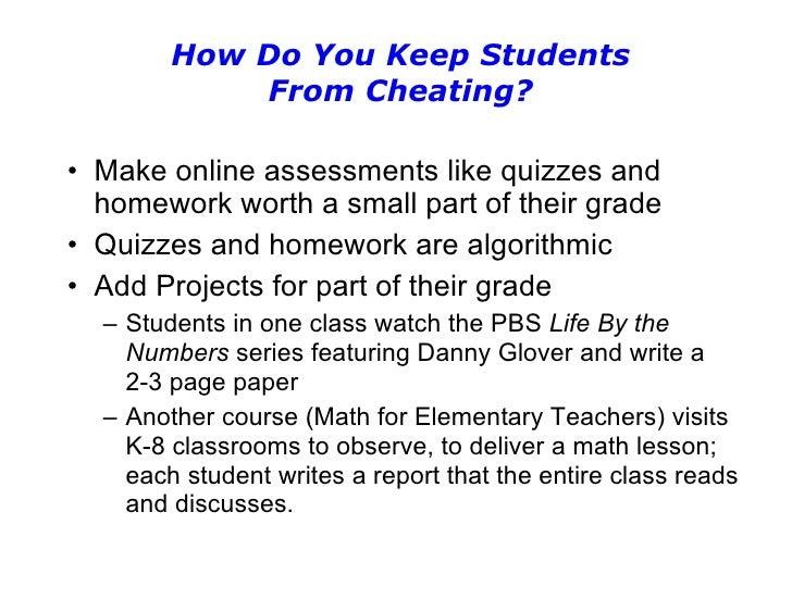 cheating mymathlab homework