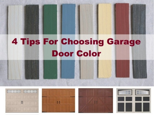 Choosing Garage Door Color. .airdriegaragedoors.com .