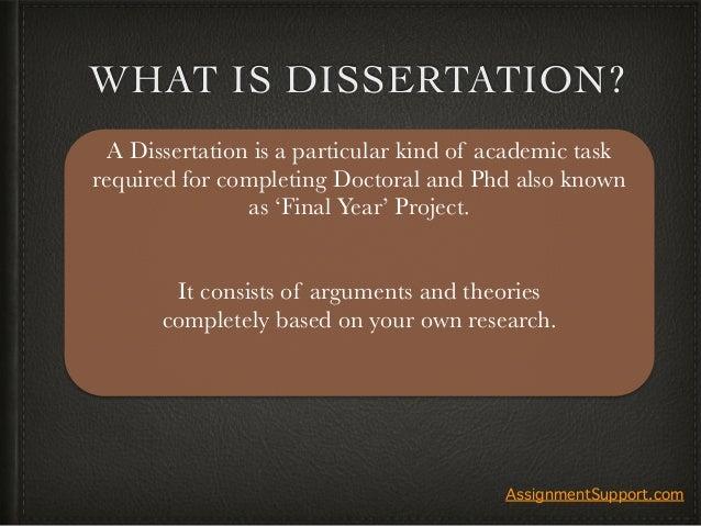 Dissertation experts com