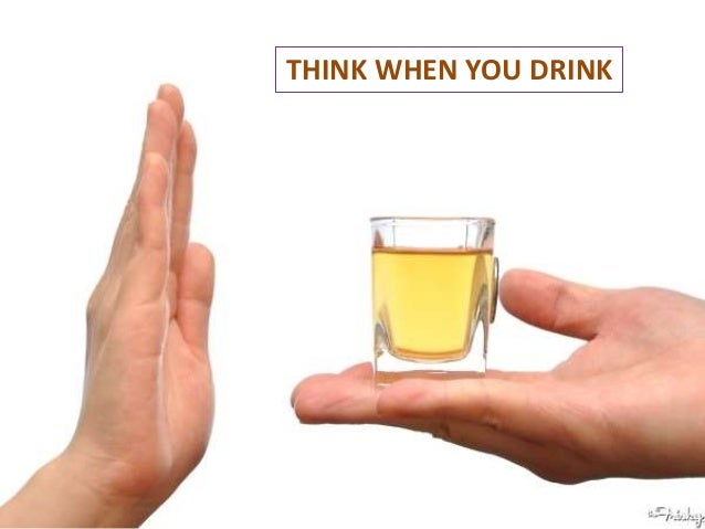 THINK WHEN YOU DRINK