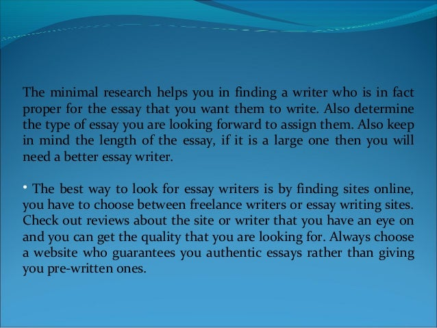 Excellent Essay Writing Service: Hire An Essay and Dissertation Writer Online