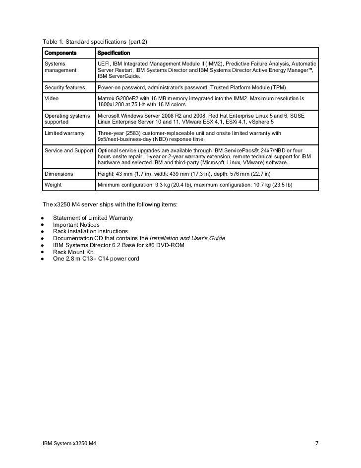ibm redbooks product guide ibm system x3250 m4 rh slideshare net