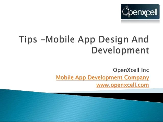 OpenXcell IncMobile App Development Companywww.openxcell.com
