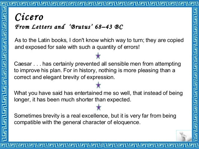 life of cicero 2 essay Lifetime they were probably all personally known to cicero montaigne was much  more  examination of des livres (ii, 10), the other essay in which montaigne.