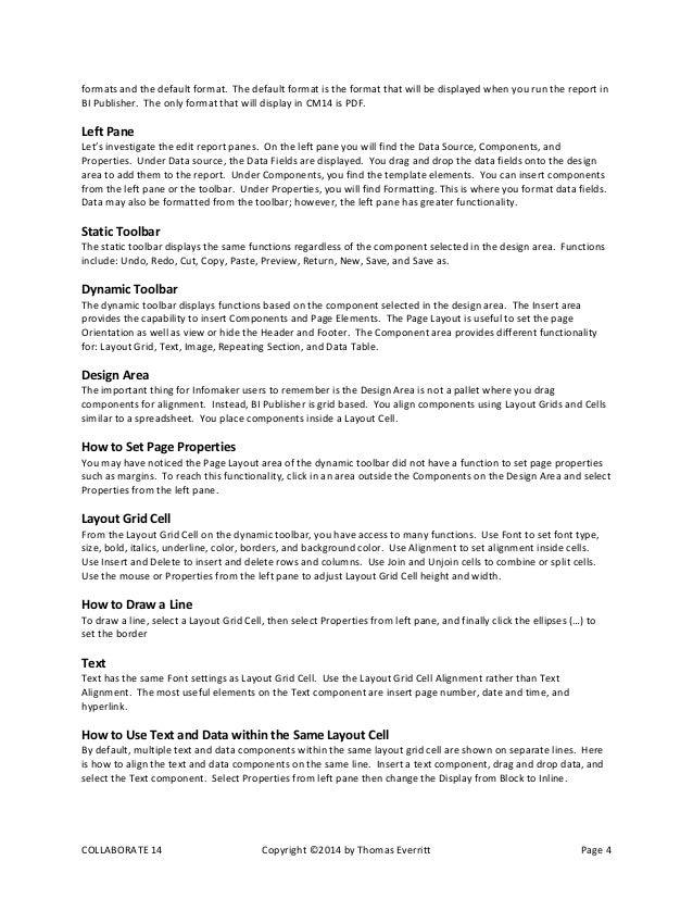 White paper report template
