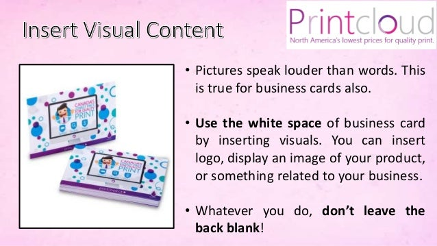 Tips and tricks for creating stunning business cards by printcloud in 5 reheart Choice Image