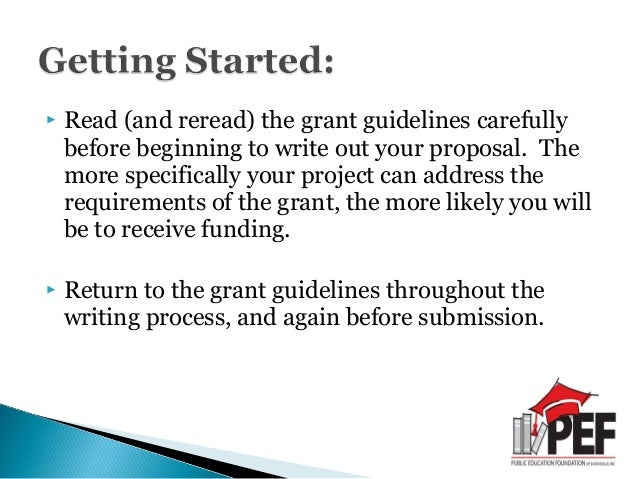 Tips And Tricks For Writing Successful Grant Proposals 2012