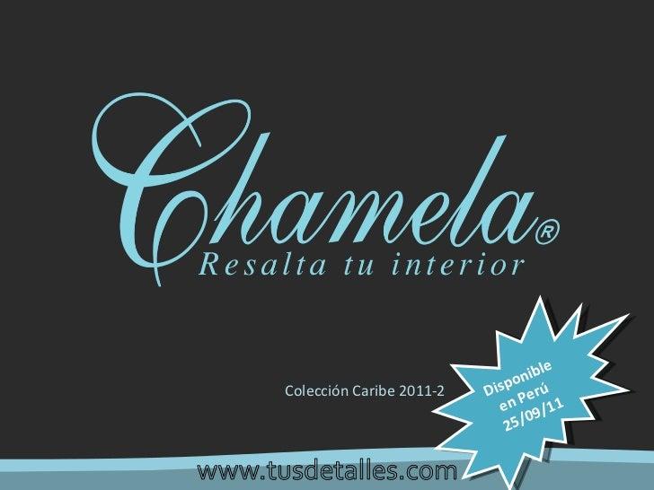 Colección Caribe 2011-2 Disponible en Perú  25/09/11