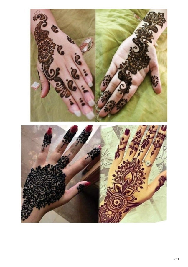Tipsclear Com 10 Simple And Latest Arabic Mehndi Designs 2017