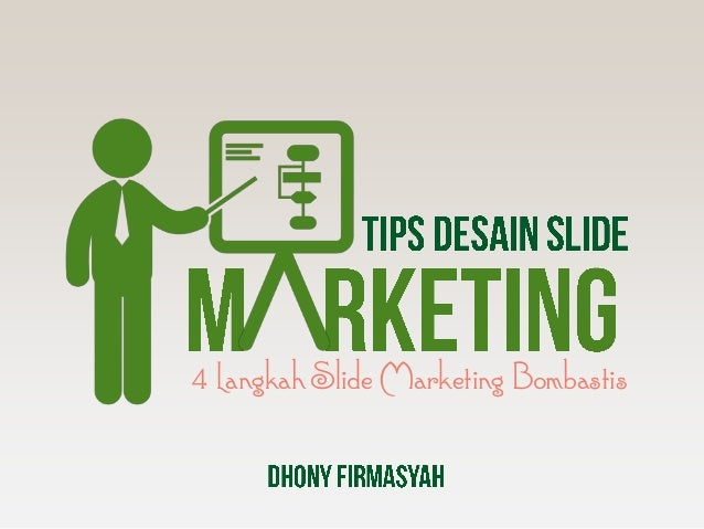 4 Langkah Slide Marketing Bombastis