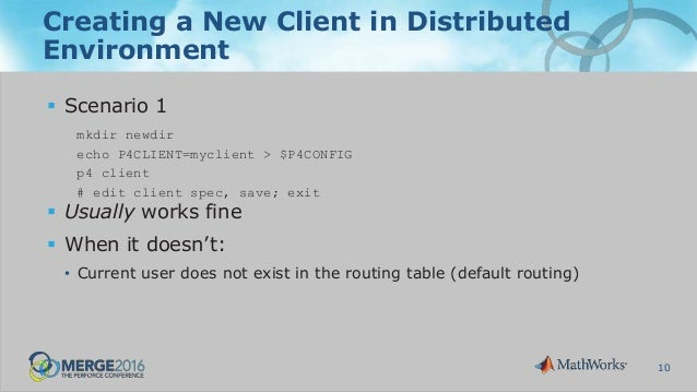 Tips for Administering Complex Distributed Perforce Environments