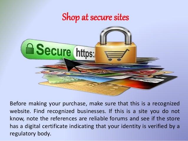 Tips for A Safe Online Shopping - Epic Deal Shop