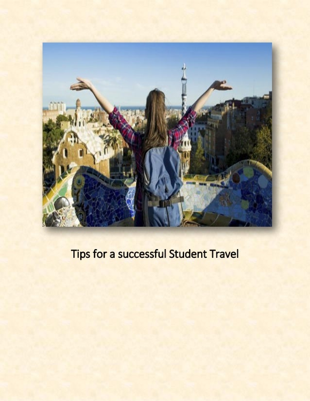 Tips for a successful Student Travel