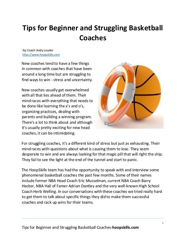 basketball coaching philosophy Over the course of a career that now spans four decades, university of michigan's  head basketball coach, john beilein, has worked with over.