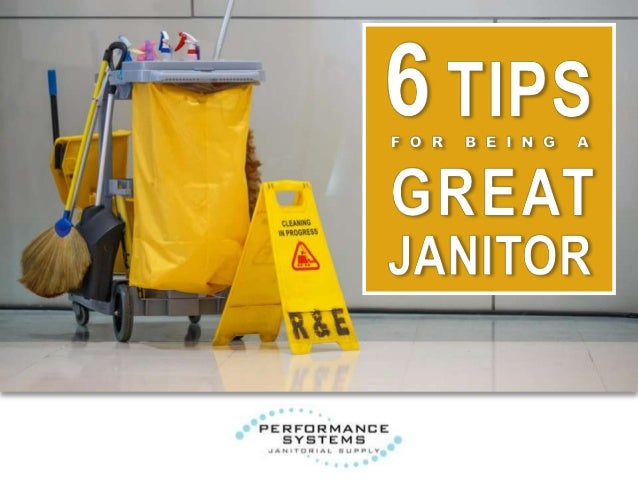 Janitors have one of the most important—and unappreciated—jobs in any company, school, or organization. Without them, buil...