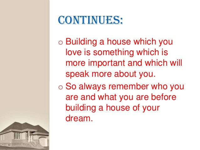 Tips For Building A House Which You Will Love