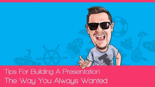 You are the  PRESENTATION