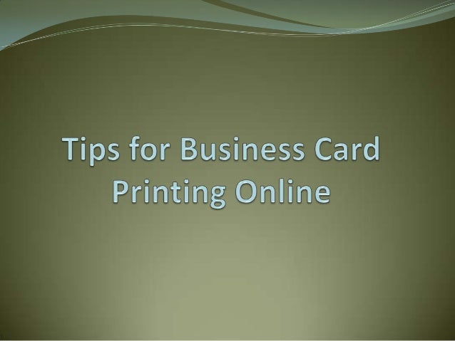 Just a decade ago, if a business or individual needed business cards, it was very common for people to visit a business in...
