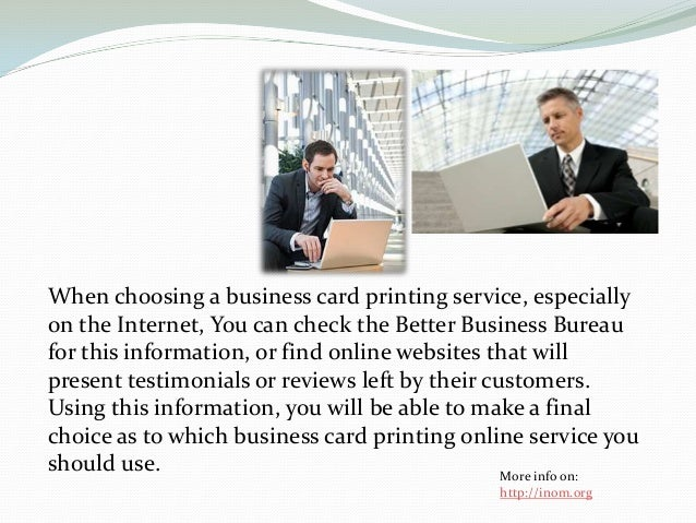 Tips for business card printing online business card printing online service you should use more info on httpinom 5 reheart Gallery