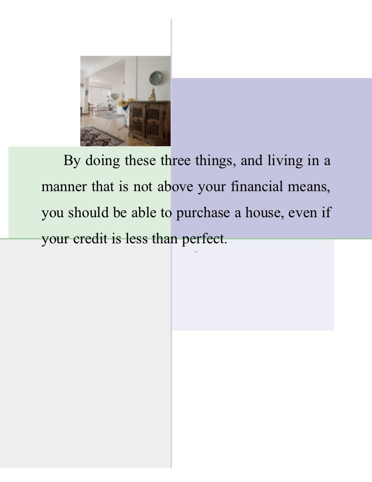Tips for Buying a Home with Bad Credit