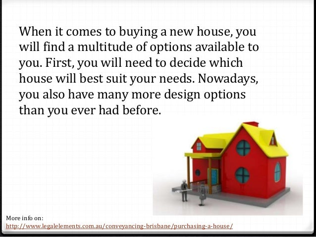 Purchasing A New Home tips for buying a new home