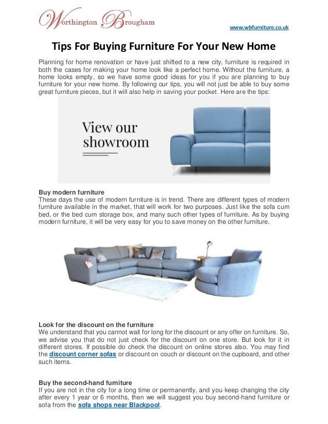 Swell Tips For Buying Furniture For Your New Home Download Free Architecture Designs Momecebritishbridgeorg