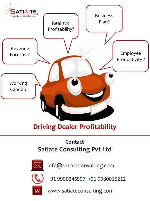 A Sample Car Dealership Business Plan Template India