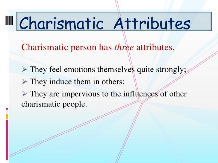 charisma essay