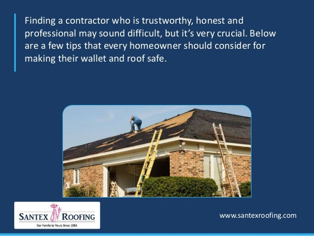 ... 3. Finding A Contractor ...
