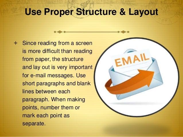 10 tips for effective email writing 10 tips for effective communication via e mails 2 use proper structure layout altavistaventures Images