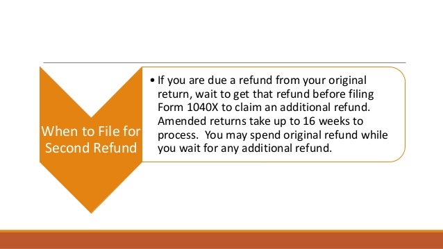 how to file for a amended tax return