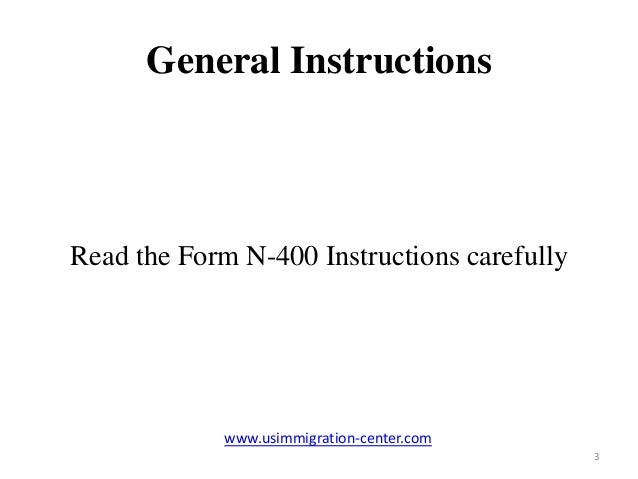 Tips for filing Form N-400 and Application for Naturalization