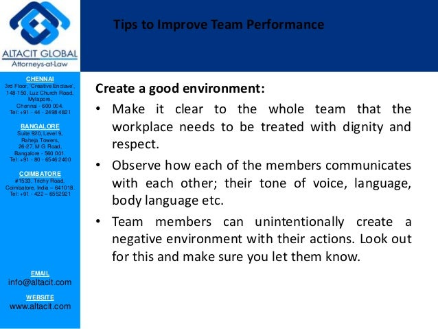 effective strategies for enhancing successful team performance Read chapter 2 techniques for making organizations effective: the third strategy for enhancing enhancing organizational performance reviews the.