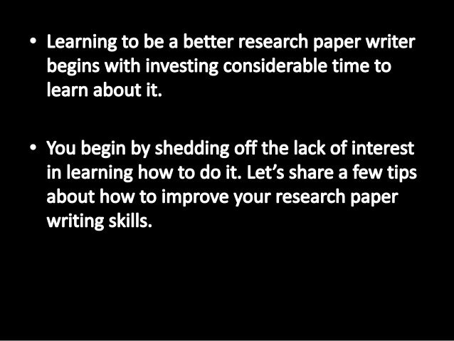 essay improve in writing Essay writing: simple ways to help your child improve their essay writing integrated learning strategies is excited to feature tips for essay writing while many of the recommendations below are great for children and parents, some accommodations or exceptions may be made for children with learning challenges and learning disabilities.
