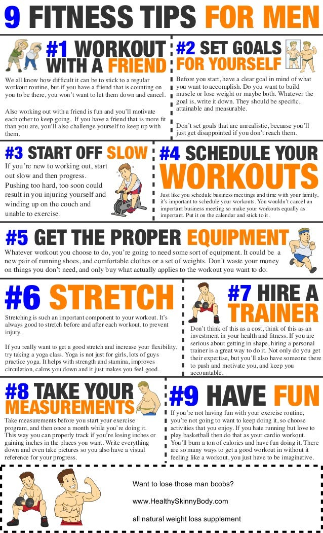 9 FITNESS TIPS FOR MEN If Youre New To Working Out Start