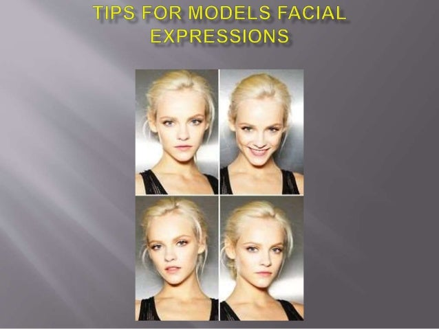 Modeling Tips Facial Expressions
