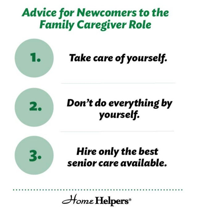 3 Tips for Newcomers to the Family Caregiver Role