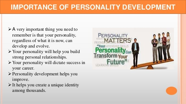 how to develop your personality book