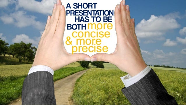 Tips for Preparing a Short Presentation Slide 3