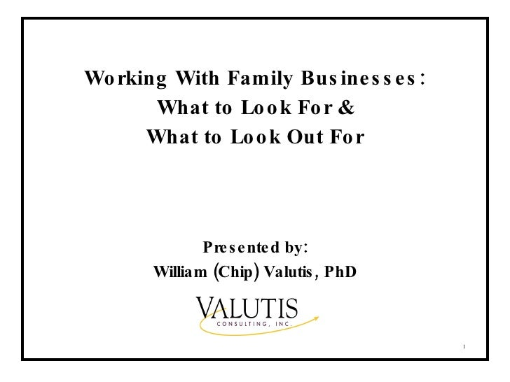 Tips for professionals who work with family businesses