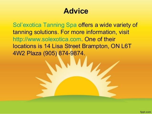 Sol exotica spray tan coupon