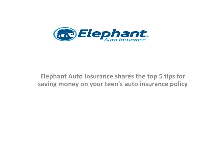 Elephant Auto Insurance Quote Best Elephant Auto Insurance Shares The Top 5 Tips For Saving Money On You…