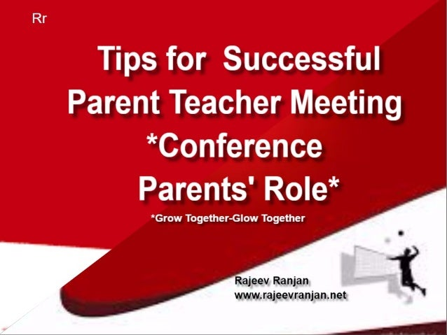 Tips For Successful Parent Teacher >> Tips For Successful Parent Teacher Meeting Conference