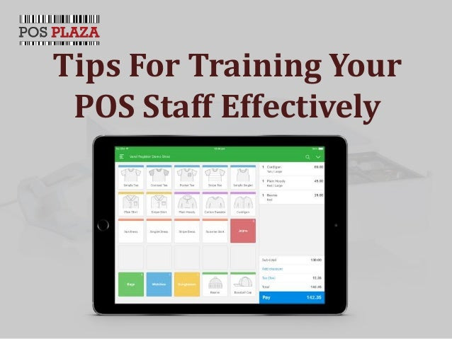 Tips For Training Your POS Staff Effectively
