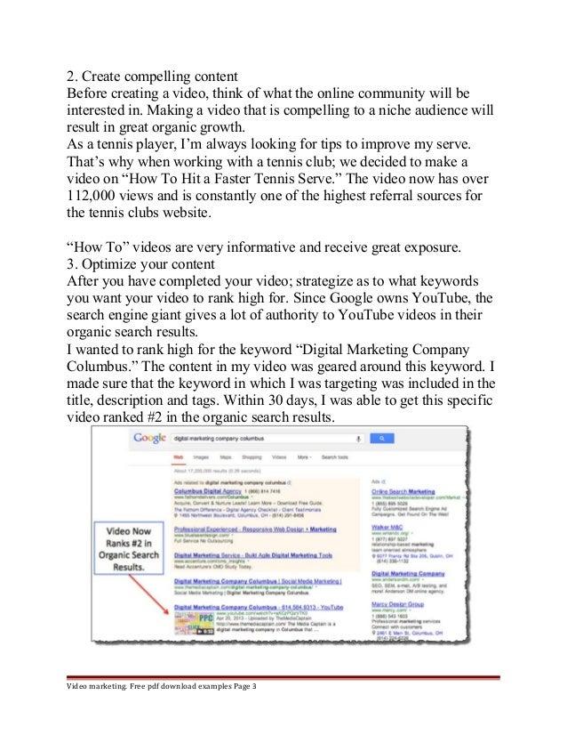 Tips for video marketing Slide 3